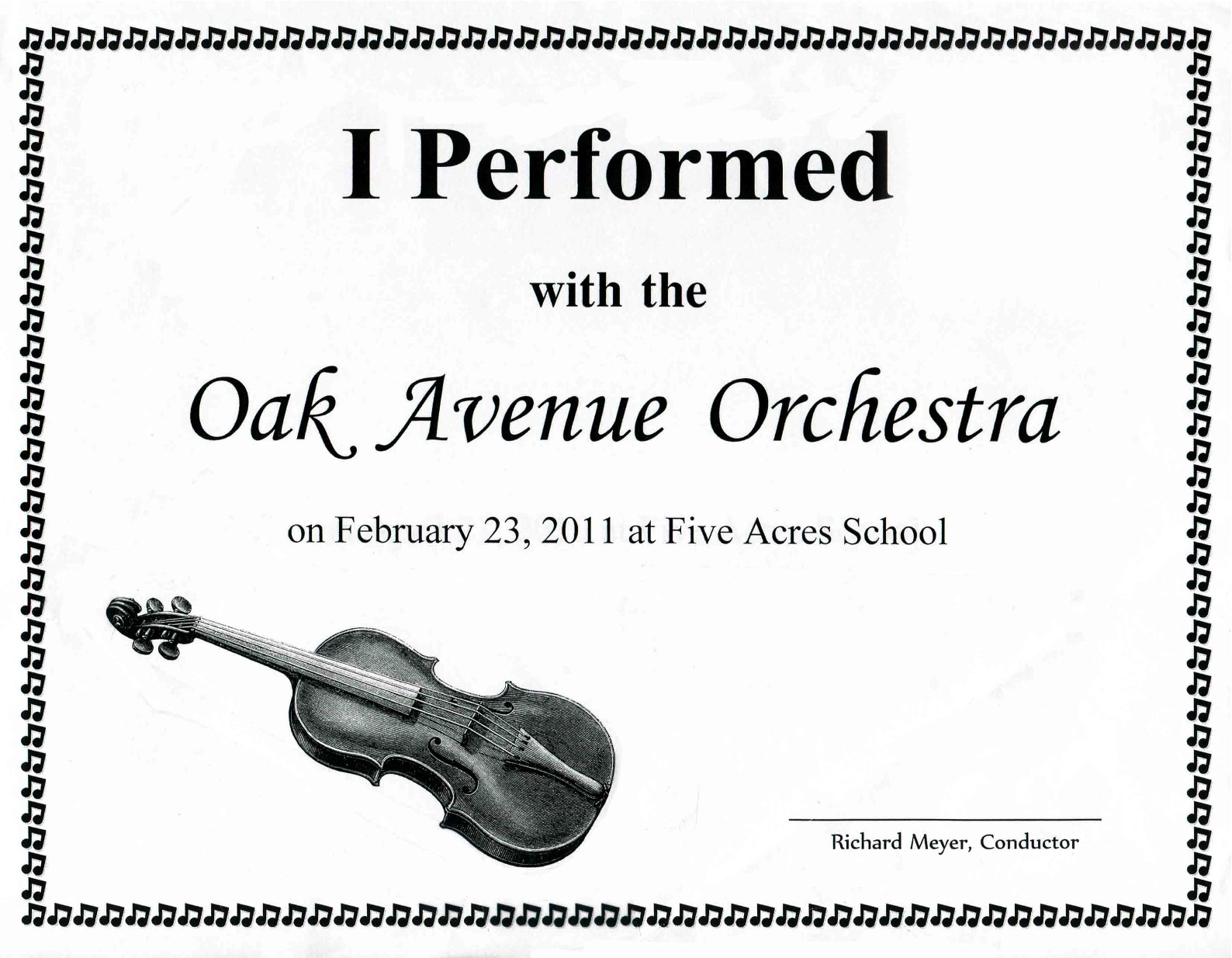 Music performance certificate template images certificate design music performance certificate template image collections music performance certificate template image collections music performance certificate template alramifo Image collections
